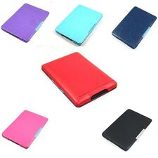 Thin SLIM LEATHER SMART CASE COVER+stylus Fr NEW AMAZON KINDLE PAPERWHITE 5 0862