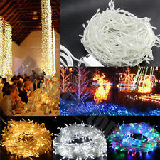 100 200 300 500 1000 LED String Fairy Lights Party Christmas Tree Xmas Wedding