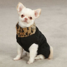 East Side Collection The Audrey Leopard Dog Sweater  Hard To Find - Clearance