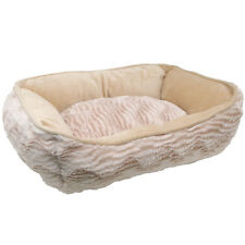 Catit Style CUDDLE Cat Bed REVERSIBLE Washable  Pink, Gray, Brown or Beige