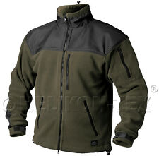 Helikon Tex Classic Army Fleece Jacket oliv schwarz Outdoor Jacke