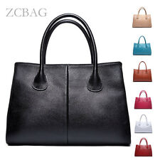 8Cls Classic 100% Genuine Leather Women Handbag Ladies Tote Messager Bag Shopper