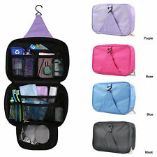 Unisex Luxury Wash Bag Hanging Large Travel Toiletry Storage Organizer