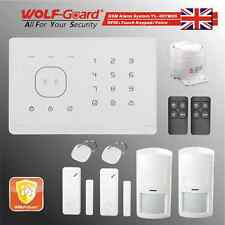 RFID Touch keypad Voice Wireless GSM Security Alarm System WOLF-GUARD M2G-A