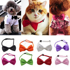 Adjustable Handsome Kid Pet Dog Cat Bow Tie Necktie Neck Collar Cute Clothes