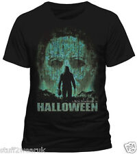 Halloween Vintage Face T Shirt  OFFICIAL Rob Zombie Film Poster Art