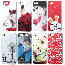 Various Paint Pattern Romance Phone Skin Case Cover for Apple IPhone 4 4S 5 5S