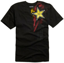 Rockstar by Fox Racing Faded s/s Tee Shirt Black