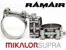 MIKALOR W2 Stainless Supra Heavy Duty Pipe Clip Washing Machine Hose Clamps