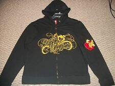 NWT APPLE BOTTOMS BLACK LOGO HOODIE SHIRT TOP WOMEN'S PLUS SZ 1X 14 16 2X 18 20