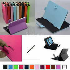 "Colorful Magic PU Leather Case+Stylus For 7"" Hannspree HANNSpad SN70T3 Tablet PC"