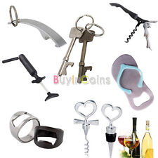 Durable Key Opener Ring Bottle Slipper Wine Needle Pump Wine Opener Stopper HFAU