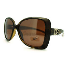 DG Eyewear Womens Sunglasses Fashion Oversized Butterfly Frame