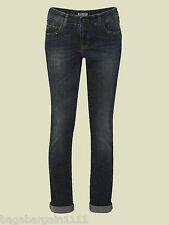 RRP£55 NEW WHITE STUFF SMART VINTAGE STYLE BLUE STRAIGHT LEG ABIGAIL JEANS