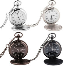 New  Antique Style Pocket Watch On Chain UK Seller - Best Man