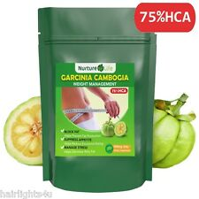 PURE ORGANIC GARCINIA CAMBOGIA 62.1% HCA 3000mg STRONGEST DAILY DOSE FAT BURNER