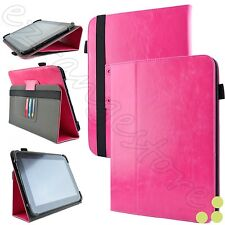 """Kozmicc 8.9"""" - 10.1"""" Inch Universal Adjustable Folio Stand Tablet Case Cover NEW"""