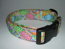 EASTER EGGS  DOG COLLAR (YOU PICK THE SIZE)