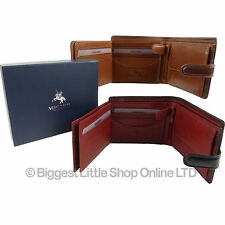 New Top Quality MENS LEATHER WALLET Torino Collection by VISCONTI Gift Boxed