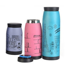 3 Colors Portable Novelty Frosted Stainless Steel Lovely Vacuum Cup Thermos HOT