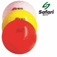 Grays Astrotec Hockey Ball Pack of 12- white yellow orange indoor outdoor