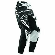 Thor S13Y Phase Youth Riding Pants Dirt Bike Riding Gear White/ Black