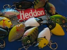 Heddon Fishing Lure Keychain Quality Boat Key Choice of Colors