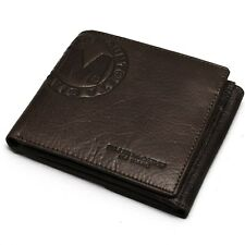 New Leather Mens Wallet Credit Card Full Zippered Coin Pocket Purse-MJ2082/3082