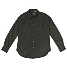 LEVI'S VINTAGE CLOTHING 1960S WESTERN SHIRT BEDFORD BLACK AW13 RRP £140