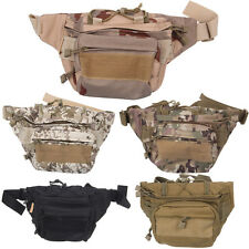 Pro Military Tactical Waist Pack Pouch Camping Hiking Running Outdoor Sport Bag