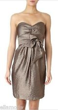 Untold RRP £110 House of Fraser Bronze Shimmer Bandeau Cocktail Party Prom Dress