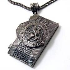 Hip Hop CZ Crystal Stone Brick Squad Camera Pendant 36 Franco Chain Necklace