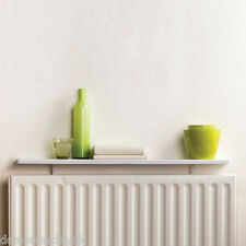 Duraline White Radiator Shelf 800 x 200 mm With Rounded Corners Floating Shelves
