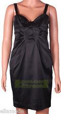 Untold RRP£95 House of Fraser Black Satin Look Cocktail Party Dress Free UK Ship