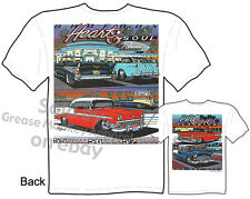 Chevy Shirt 55 56 57 Classic Car T Shirts Chevrolet Shirt 1955 1956 1957 BelAir