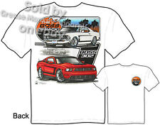 Mustang Apparel Boss Ford Mustang T Shirts 69 Boss 302 1969 Muscle Car Clothing