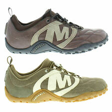 Merrell Striker Goal Mens Leather Lace-up Casual Walking Shoes Sizes UK 7 - 14