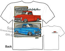 Chevy T Shirts Truck Tee Shirts Chevrolet Apparel 1955 1956 1957 Pickup Clothing