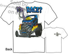 Ed Roth Rat Fink Hot Rod T Shirts Ford T Shirts Big Daddy Clothing Race? Apparel