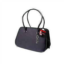 Hagen Dogit VENEZIA FAUX LEATHER CARRIER Dog Pet UP TO 20 LBS Red or Purple