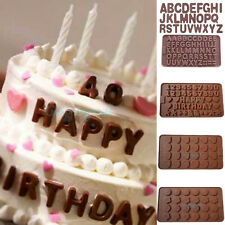 Silicone Cake Topper Mould Chocolate Fondant Cookies Muffin Baking Pop Soap Mold
