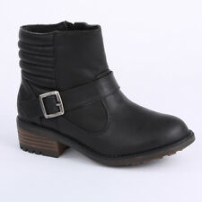 Coolway Neomoto Womens Ankle Boots Textile Black New Shoes Size 3 4 6 7 8 UK
