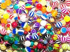 Multi-pack of  Mixed Style Belly Bars / Navel Rings - Choose Pack Size