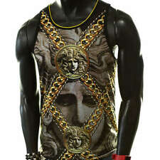 CLEOPATRA EGYPTIAN PHARAOH BLACK GOLD 3D YOLO DOPE DRAKE TANK TOP MUSCLE TSHIRT