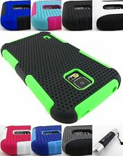 FOR SAMSUNG GALAXY S V 5 S5 HYBRID PLEXUS NET APEX SKIN CASE COVER +STYLUS/PEN
