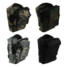 Camo Tactical Army Waist Bag Detect Tools Pouch Case Packs Outdoor Hunting UK