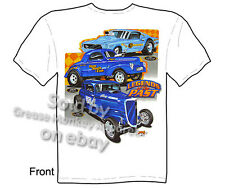 Hot Rod Clothes Ford Shirts Drag Racing T Shirt Automotive Shirts Vintage HotRod