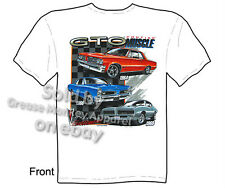Pontiac Shirts GTO Shirts Muscle Car Apparel Automotive T shirt 1964 1966 1969