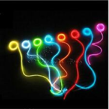 3M Flexible Neon Light Glow For Tube Car Dance Party EL Wire Rope + Controller