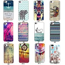 Colorful Hybrid Cute Hard Plastic Back cell Case Cover For iPhone 4 4G 4S 5 5S